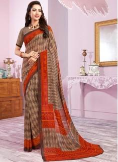 Casual Wear Decent Print  Saree