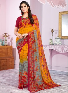 Casual Wear Decent Print  Saree
