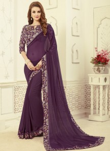 Casual Wear Rich Look Saree With Fancy Blouse