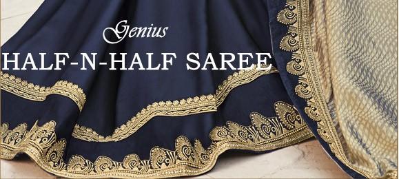 HALF-N-HALF SAREE