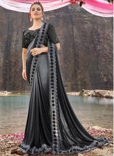 Designer Saree WIth Unique Concept And Fancy Blous