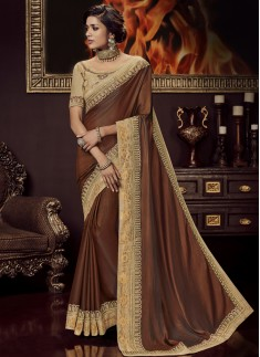 Designer Soft Silk Saree With Heavy Blouse Piece