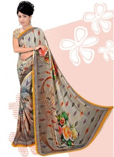 Digital Print Daily And Casual Wear Saree