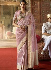 Excellent Silk saree With Zari Weaving And Short Weaving Pallu