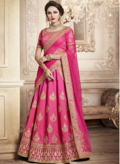 Exclusive Jhari Work Lehenga Choli With Nett Dupatta
