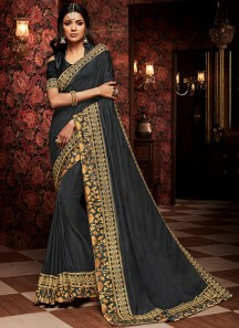 Exclusive Soft Silk Saree With Elegant Border