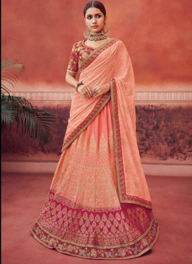 Fancy  Lehenga Choli With Georgette Dupatta