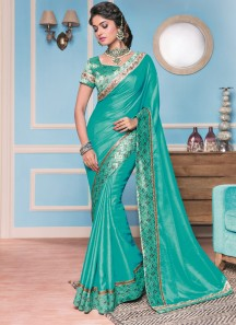 Master Piece Soft silk With Brocade Border with Brocade blouse