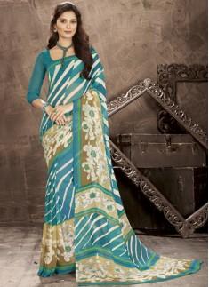 Regular Wear Exclusive Printed Saree