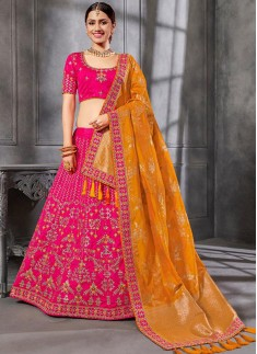Stunning Look Lehenga Choli With Decent Work Designs