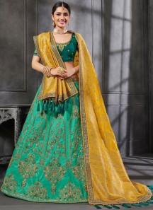 Stunning Look Lehenga Choli With Decent Work Designs