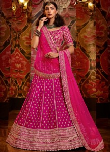 Unique Work Lehenga Choli With Light Work Net Material Dupatta