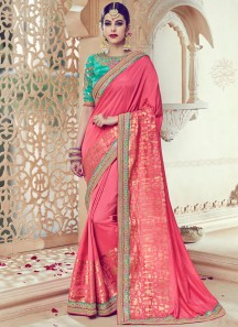 Voluptuous Art Silk Traditional  Saree